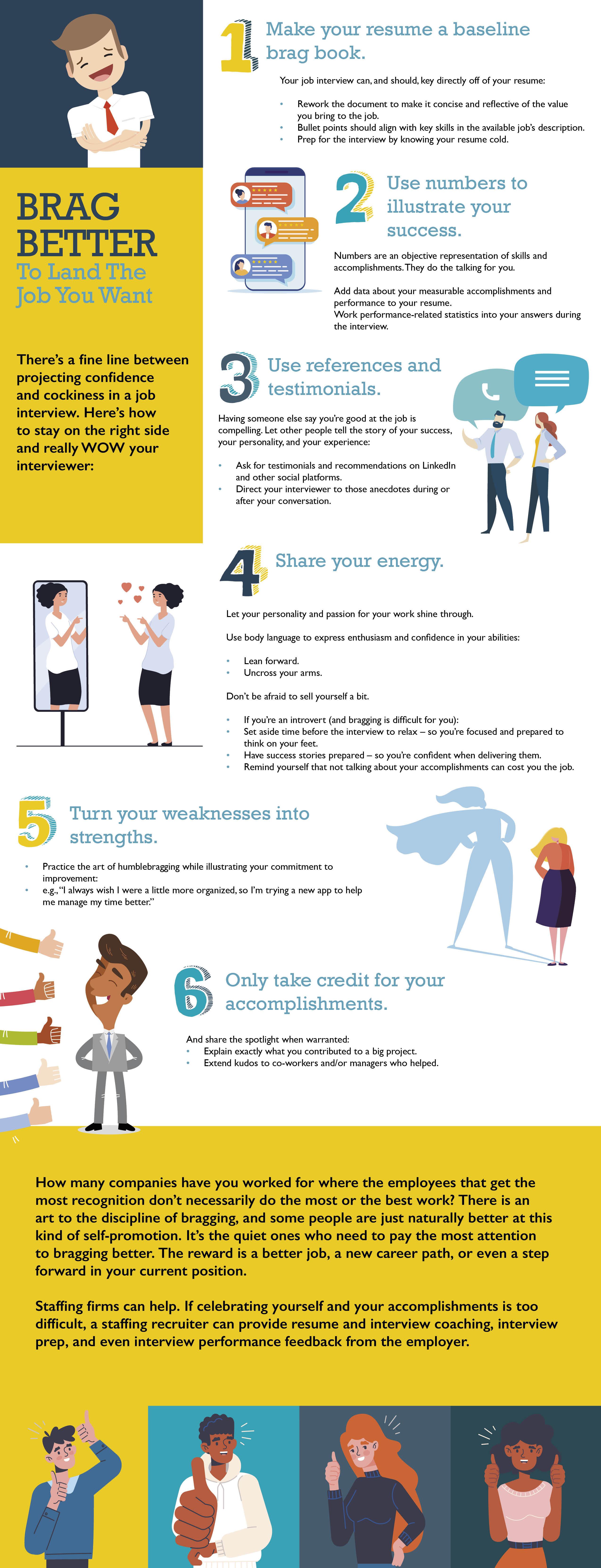 Brag Better Infographic